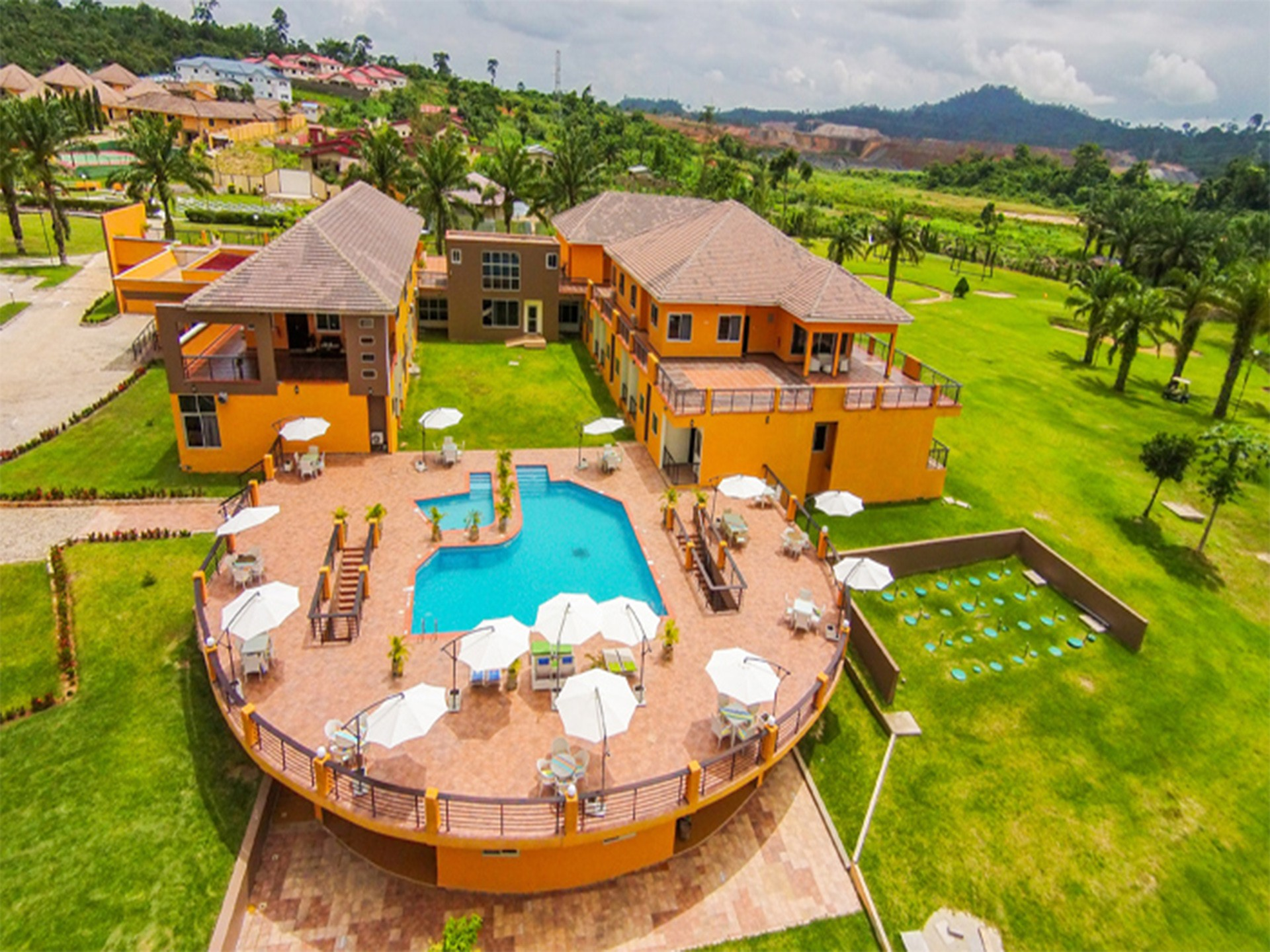 Beige Village Golf Resort - Bird View