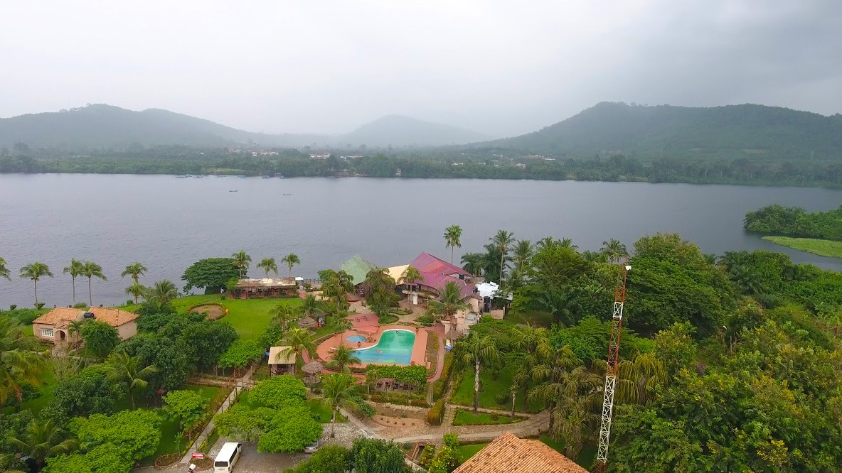 Afrikiko Resort Akosombo - River View